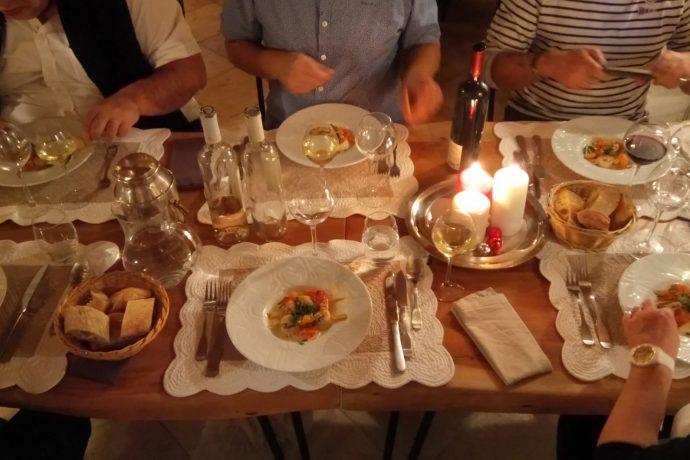 dîner convivial