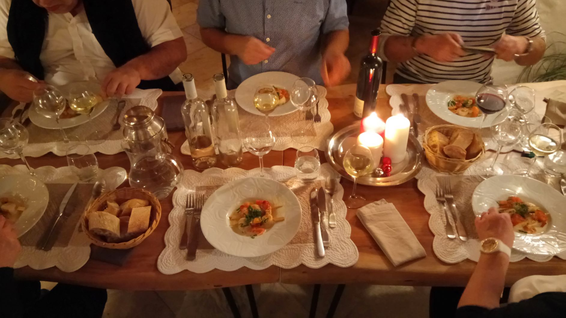 friendly dinner