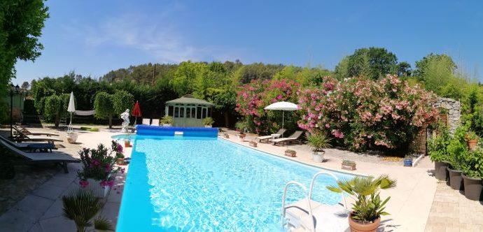piscine printemps